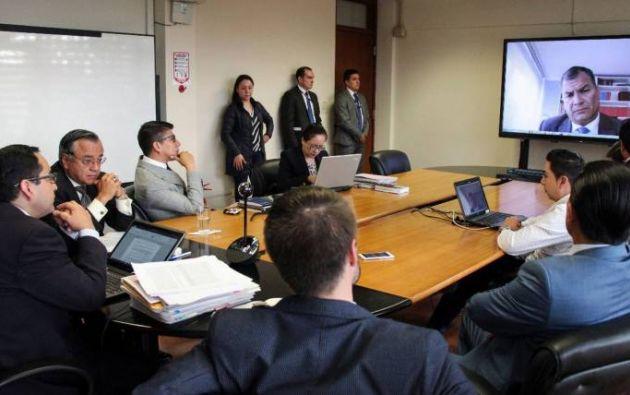 BÉLGICA.- En mayo de 2018, Rafael Correa señaló que desconocía del secuestro a Balda. Foto: Archivo