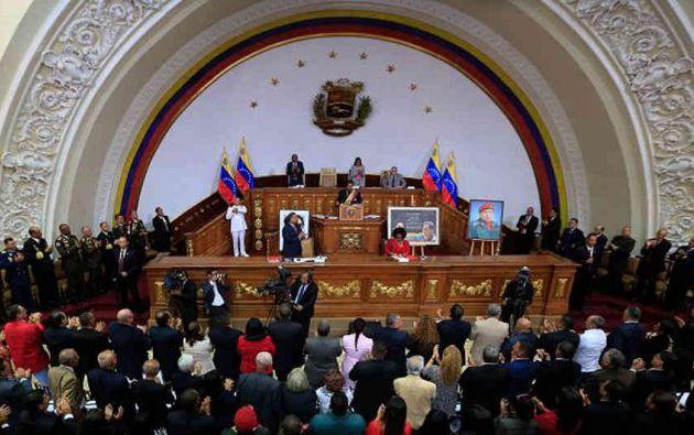 """La Asamblea podría redactar nuevas leyes que establezcan """"castigos ejemplares"""" contra los """"traidores a la patria"""". Foto: archivo"""