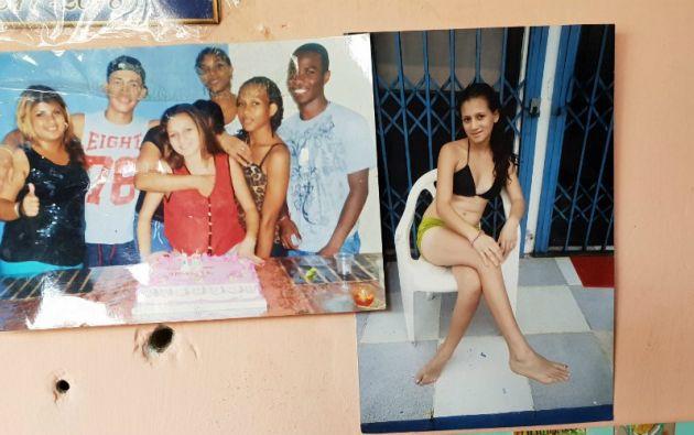 Katty Vanessa, en una de las últimas celebraciones familiares. Fotos: Diana Romero