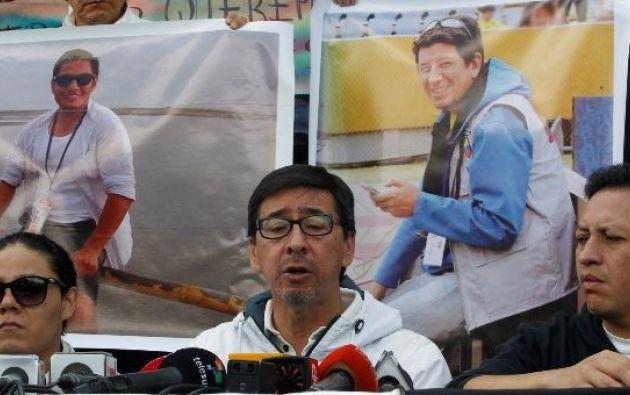 Familia de periodistas de Ecuador esperan avance caso con captura en Colombia. Foto: Reuters - Referencial