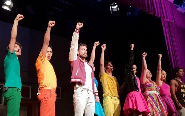 La música original de la obra fue compuesta por Ale Sergi, de la agrupación Miranda. Foto: Vistazo.