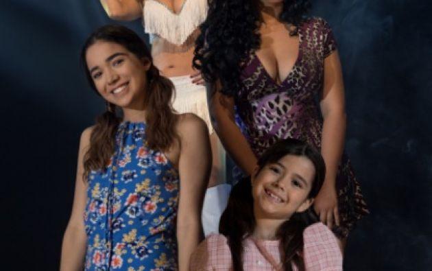 Las actrices que interpretarán a Sharon en la serie. Foto: Ecuavisa.