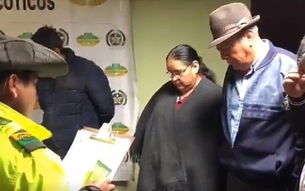 Familia simulaba viaje para llevar heroína a Ecuador. Foto: Twitter