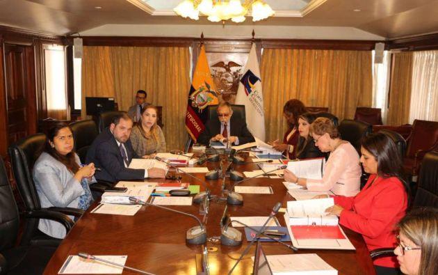 QUITO, Ecuador.- En 60 días, iniciará el proceso de selección de los nuevos magistrados constitucionales. Foto: Archivo