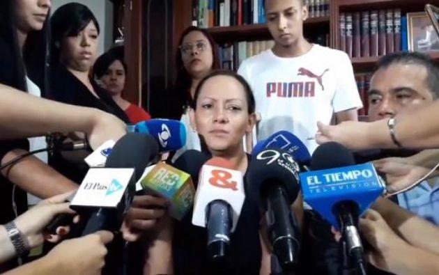 """Orozco dijo que a ella le informaron que el viaje se hacía para """"justificar y lavar dinero de un político"""". Foto: Twitter"""