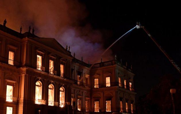 Creado en 1818 por el rey Juan VI e instalado desde 1892 en el expalacio imperial de San Cristóbal. Foto: AFP