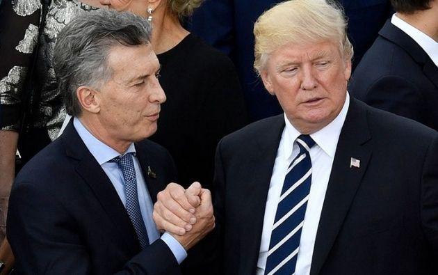 Esta conversación se da en medio de la crisis causada por el desplome del peso argentino. Foto: archivo AFP
