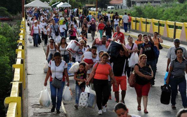 """El ministro reiteró que existe un """"montaje"""" internacional de una supuesta crisis humanitaria en su país. Foto: archivo"""