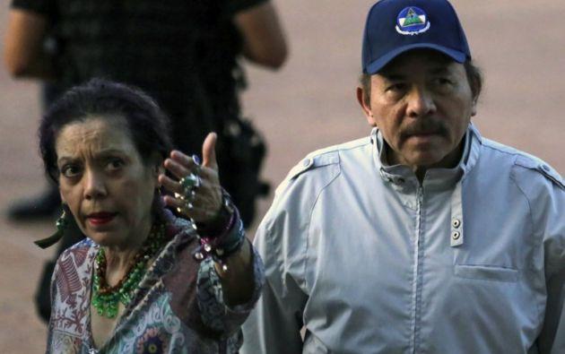La resolución es la tercera que aprueba la OEA desde el estallido de las protestas que piden la salida del poder de Ortega y de su esposa y vicepresidenta. Foto: AFP