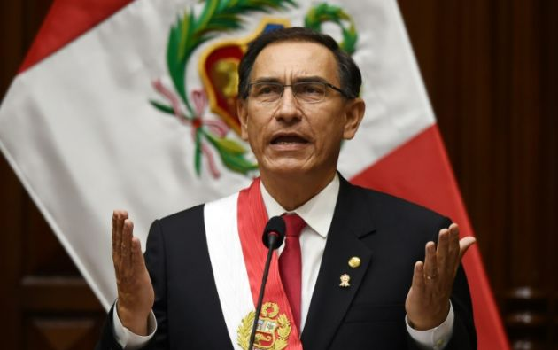 En caso de disolver el Congreso, Vizcarra debe convocar a nuevas elecciones legislativas en cuatro meses más. Foto: AFP