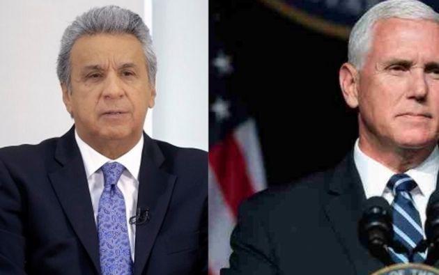 La conversación tuvo por objetivo dar seguimiento al encuentro bilateral mantenido entre ambos dirigentes en junio. Foto: collage Vistazo