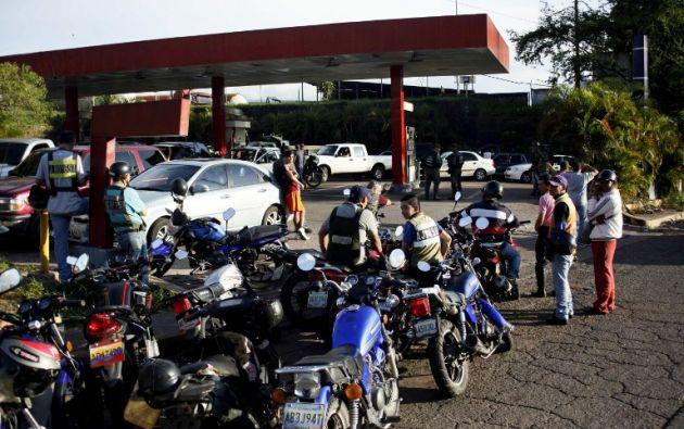 Táchira es considerado por el gobierno de Maduro como uno de los puntos por donde más combustible de contrabando sale hacia Colombia. Foto: AFP