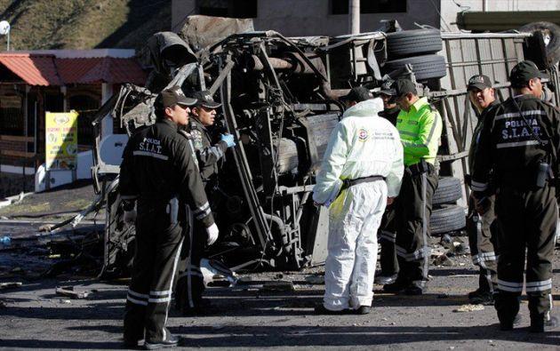 El accidente ocurrió en la carretera que une Quito con la zona de Papallacta. Foto: archivo