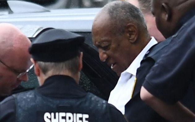 Cosby, de 81 años, tendrá que ingresar en prisión de forma inmediata. Foto: AFP