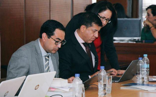 Pérez presentó en total 103 elementos de convicción en contra de los procesados. Foto: Fiscalía