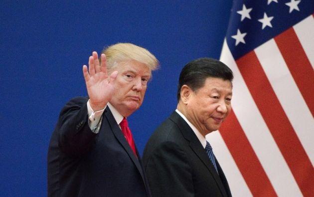 """El presidente norteamericano admitió que el líder chino """"quizá ya no es"""" su amigo. Foto: AFP"""