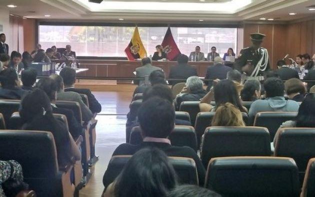 Foto: Twitter Corte Nacional de Justicia