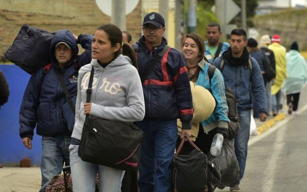 Más de 640.000 venezolanos han ingresado en Ecuador en lo que va de 2018. Foto: archivo