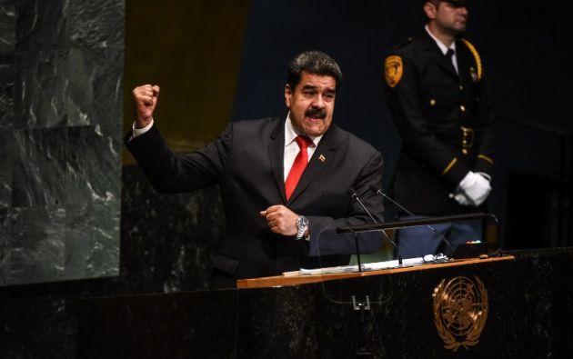 El Gobierno venezolano ha rechazado una y otra vez cualquier tipo de ayuda humanitaria. Foto: AFP