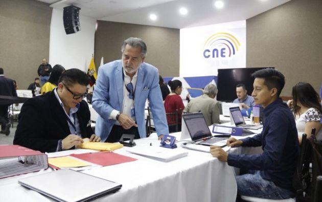 El CNE publicará el próximo 12 de noviembre la lista definitiva para la designación el CPCCS. Foto: Twitter CNE