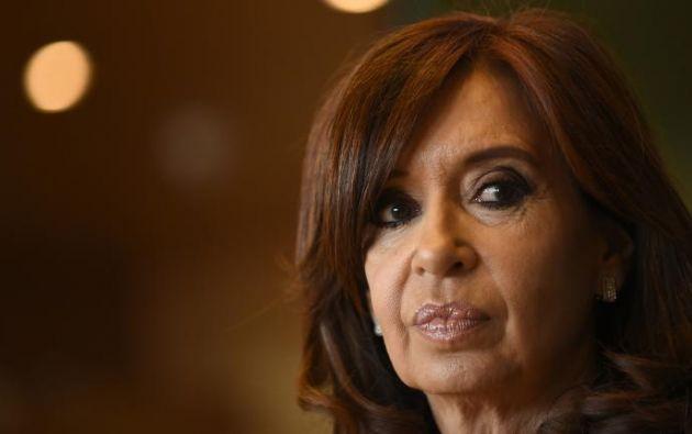 Cristina Fernández está involucrada en seis causas, la mayoría por presunta corrupción. Foto: AFP