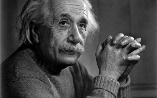 Hijo de judíos askenazí, Einstein huyó de Alemania a Estados Unidos a los 54 años. Foto: AFP