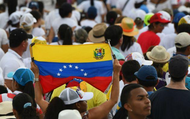 La ONU estima que hasta junio de este año 2,3 millones de venezolanos han salido de su país. Foto: AFP