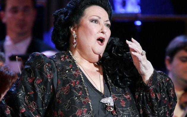 Caballé, reconocida internacionalmente, fue una de las grandes voces líricas del siglo XX. Foto: AFP