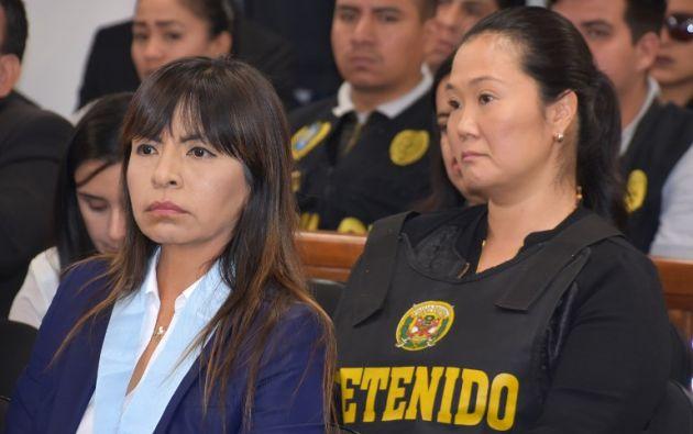Además de los líos judiciales, Keiko libra una guerra fratricida con su hermano Kenji por el legado político de su padre.Foto: AFP