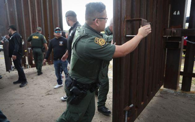 Agentes de la Patrulla Fronteriza de EE.UU. Foto: archivo AFP