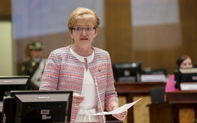 Informe determinó que Vallejo incurrió en la prohibición de gestionar cargos públicos. Foto: Flickr Asamblea