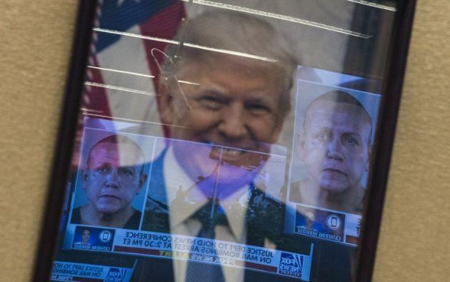 """Sus accciones, calificadas de """"terrorismo interno"""", podrían costarle hasta 48 años de prisión.Foto: AFP"""
