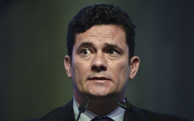 Moro se convirtió en una celebridad al conducir la vasta Operación Lava Jato. Foto: AFP