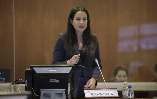 Vintimilla pide una respuesta de la Presidencia. Foto: Flickr Asamblea