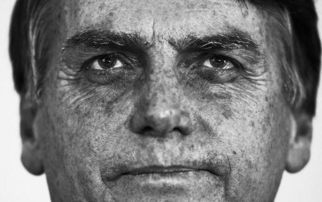 """Bolsonaro dijo que estaba decidido a armar """"a la gente de bien"""". Foto: AFP"""
