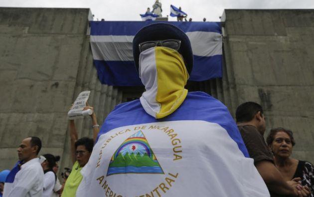 """Las organizaciones afirman que en Nicaragua existen entre 552 y 558 """"presos políticos"""". Foto: AFP"""