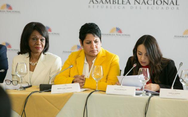 Montaño dijo que Diego García, como procurador, favoreció a Odebrecht y no a los intereses del país. Foto: Flickr Asamblea