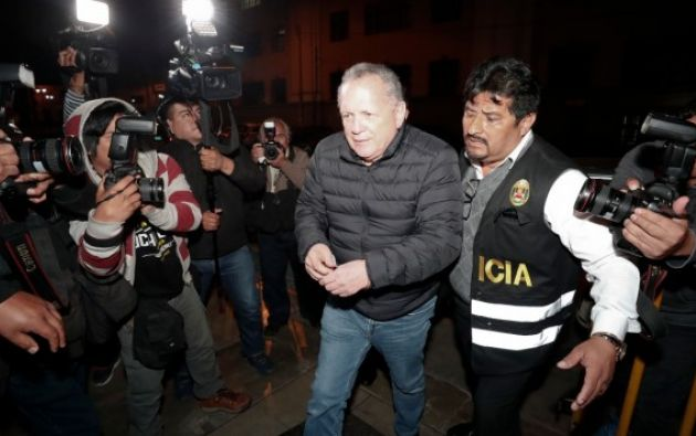 LIMA, Perú.-  Vicente Silva tenía a su cargo la estrategia política y judicial del partido Fuerza Popular en la campaña electoral. Foto: Tomada de El Comercio Perú.