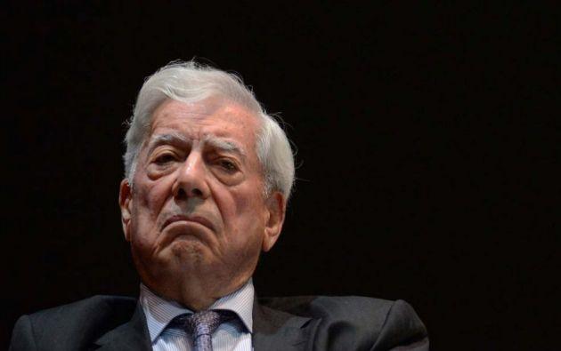 El Premio Nobel de Literatura peruano tiene previsto asimismo dar una rueda de prensa sobre su visita. Foto: AFP.
