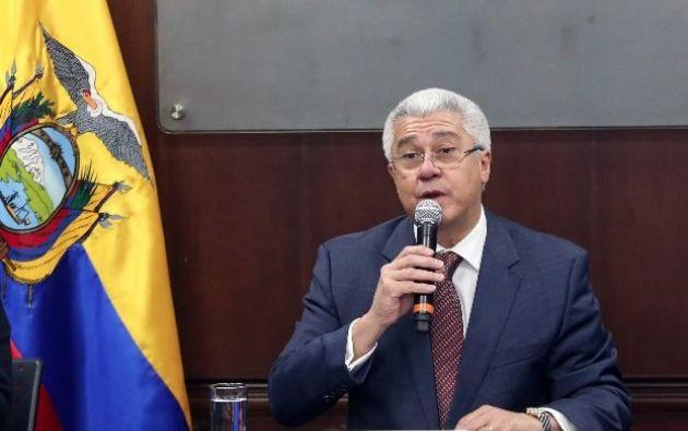 Secretario de la Presidencia de la República, Eduardo Jurado. Foto: archivo