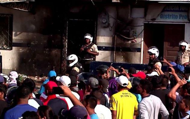 La tarde del 16 de octubre, decenas de pobladores lincharon a dos hombres y a una mujer. Foto: archivo