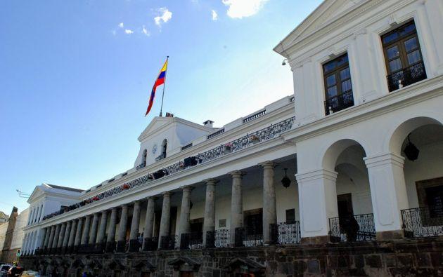 Se trata de la segunda ocasión en la que Moreno pide la renuncia en pleno de sus ministros. Foto: archivo