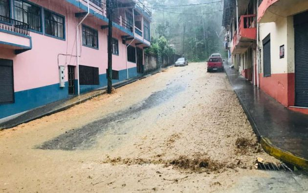Cuatro fallecidos por intensas lluvias en Morona Santiago.