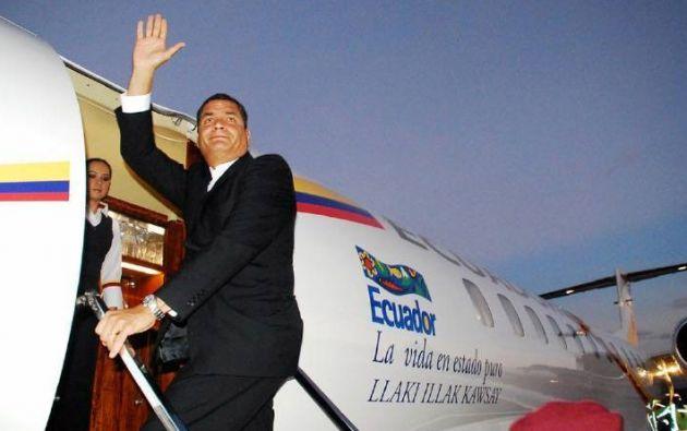 Entre todos los vuelos reportados, 24 llegaron a países considerados paraísos fiscales y se desconoce la misión en esos lugares. Foto: evafm.net