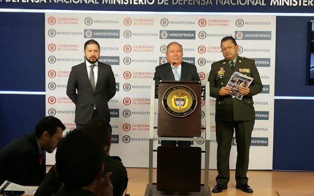 Fiscalía y Policía de Colombia, con apoyo de DEA, capturaron a 24 personas en Bogotá y 4 departamentos del país. Foto: Twitter @FiscaliaCol