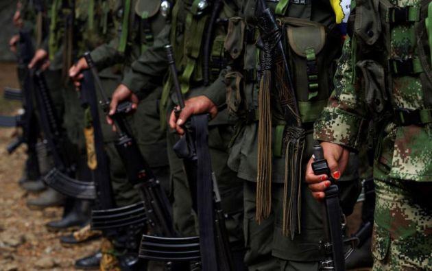 """El Gobierno dice tener en este momento a """"75 personas privadas de libertad relacionadas con el Frente Oliver Siniesterra"""". Foto: Reuters"""