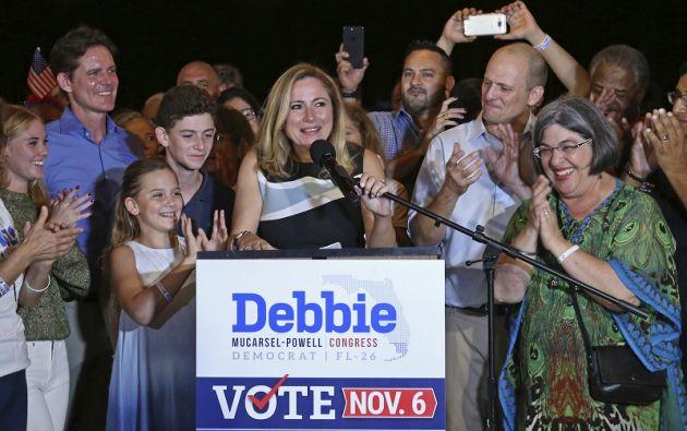 Debbie Mucarsel-Powell será la primera legisladora hispana no cubana de Florida en el Congreso de Estados Unidos.