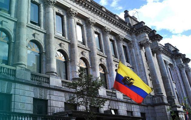 Edificio de la Vicepresidencia de la República en Quito. Foto: archivo