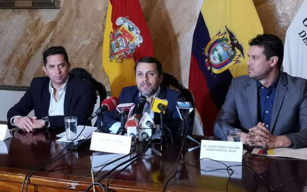 QUITO, Ecuador.- Paúl Granda anunció que se investigarán supuestos descuentos a empleados de entidad. Foto: IESS.