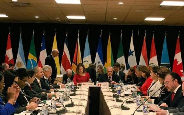 LIMA, Perú.-Canciller peruano sugerirá prohibir el ingreso a la cúpula del régimen venezolano a otros países. Foto: AFP.